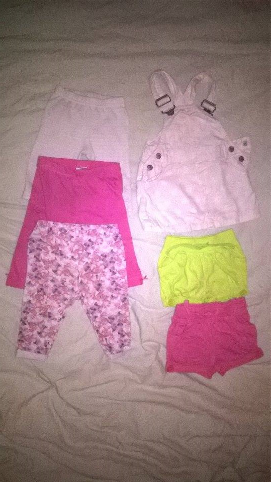 Bundle of baby clothes,  3-6m